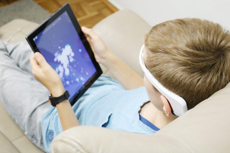 Neurofeedback mobiles Training