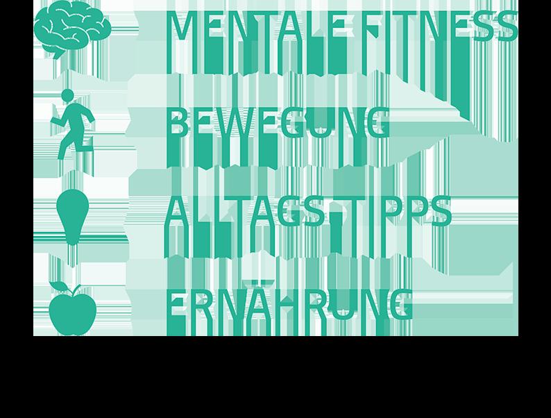 mentale fitness bewegung alltag tipps ernaehrung